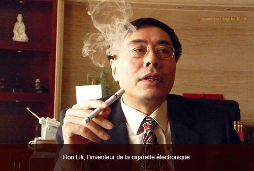 cigarette électronique inventeur