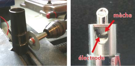 cigarette electronique electrode ouverte