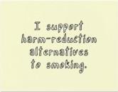 Affiche de lutte anti-tabac, association pour le droit des non-fumeurs, Toronto