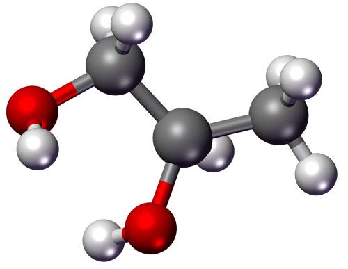 molecule Propylene Glycol