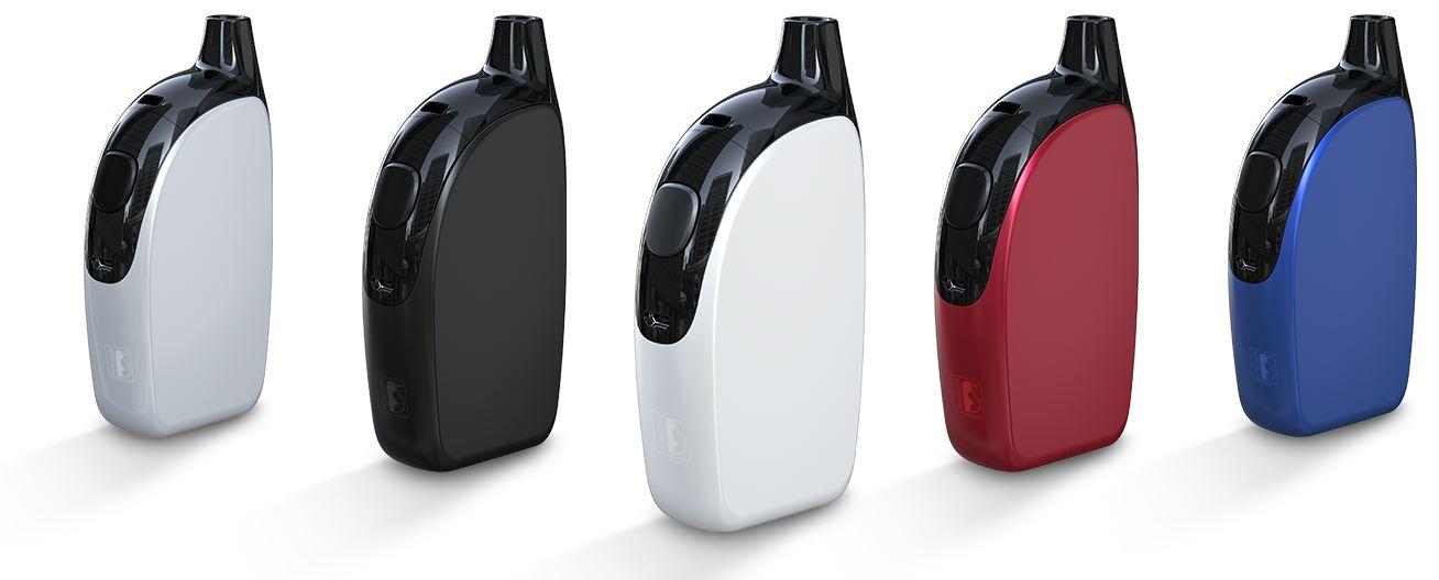 atopack penguin couleurs blanc, metal, bleu, rouge, noir
