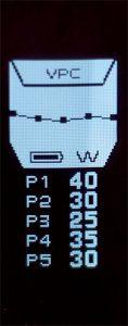 Le mode VPC permet une modulation de puissance dans le temps (toutes les secondes)