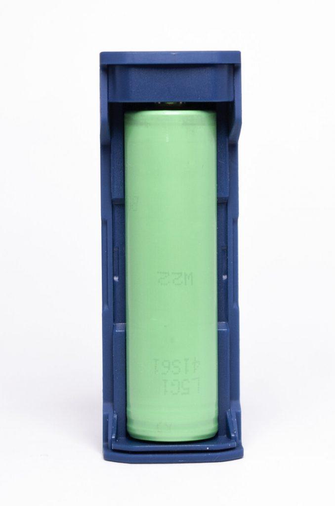 Tesla WYE 86W - Alimentation par un accu 18650 amovible