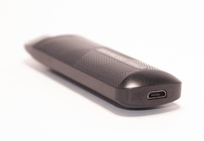 Vaporesso Osmall - Le connecteur de recharge est de type Micro-USB
