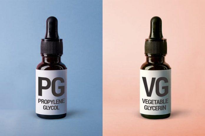 Fioles de PG et VG