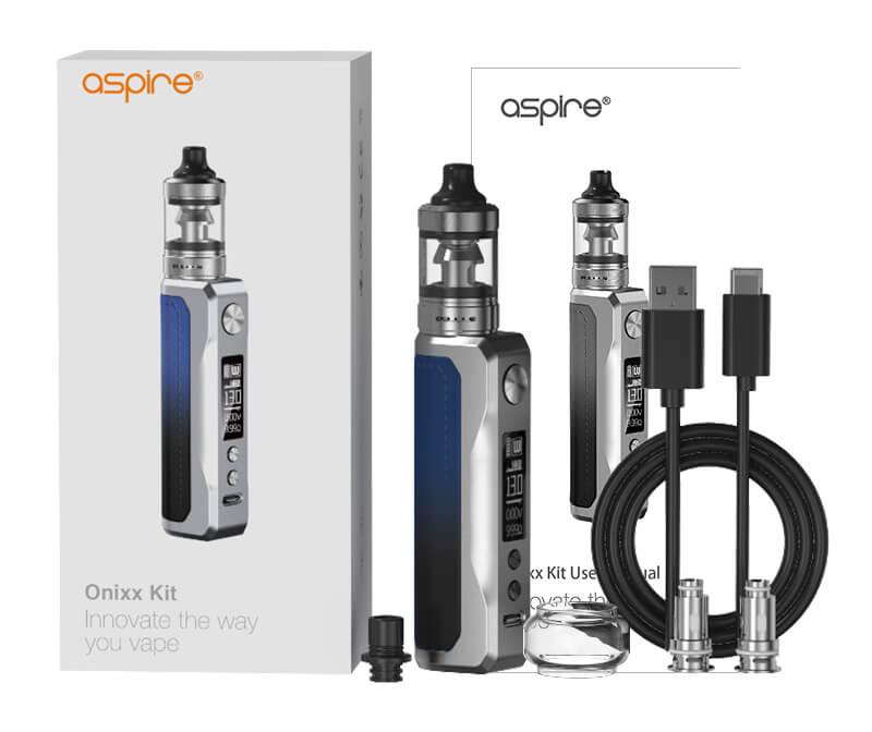Coffret du kit Onixx de Aspire